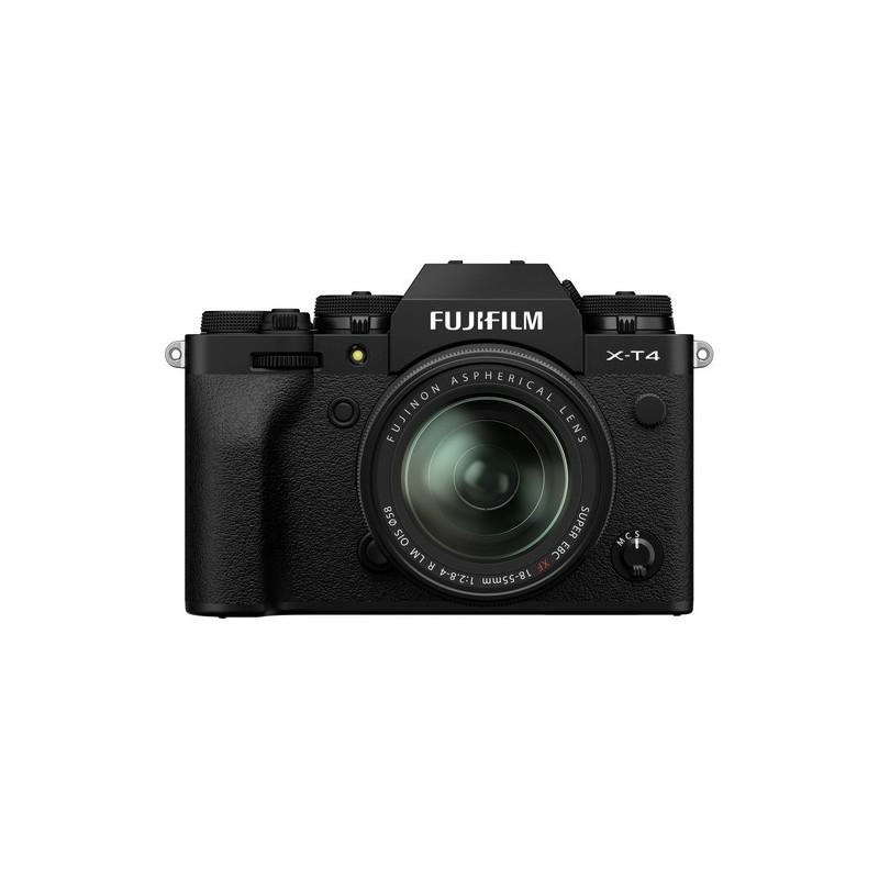 FUJIFILM X-T4+18-55 NEGRO