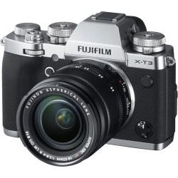 FUJIFILM X-T3 PLATA + 18-55 MM