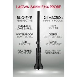 LAOWA 24MM F/14 2X MACRO...