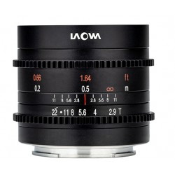 LAOWA 9MM T/2.9 ZERO-D CINE...
