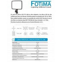 FOTIMA Panel Micro LED FTL-24B